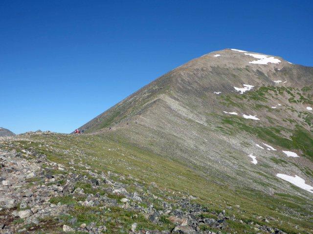 Final Ridge up Quandary