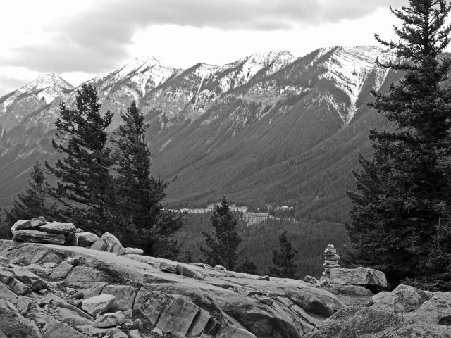Tunnel Mtn B&W_edited-1