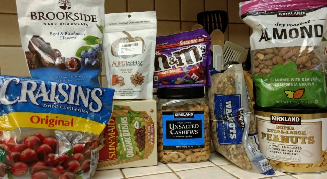Trail Mix Ingredients