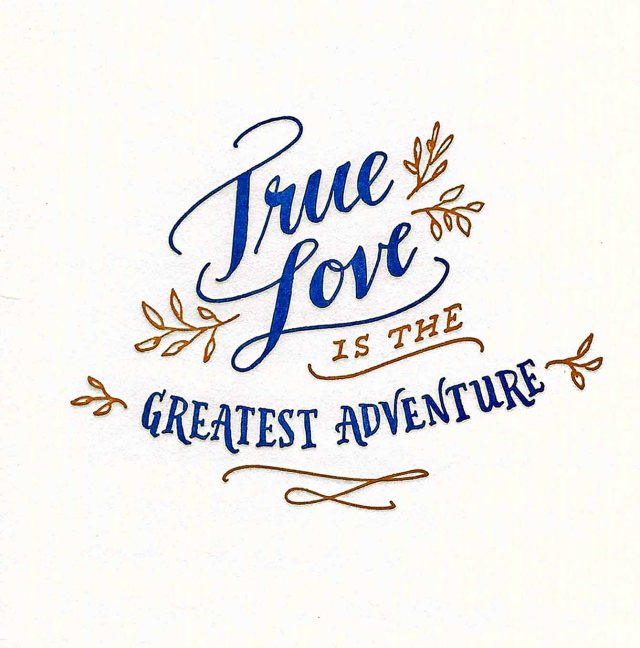 True Love Is The Greatest Adventure - edit