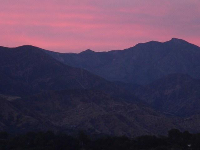 Ojai 7 - Tuesday Pink Moment